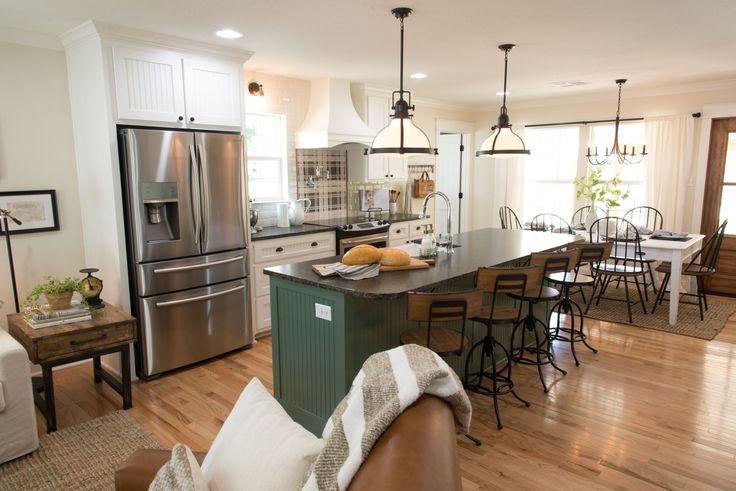 The Graham House | Season 4 | Fixer Upper | Magnolia Market | Kitchen | Chip & Joanna Gaines | Waco, TX