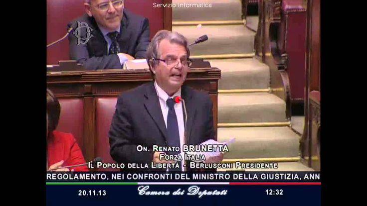 Renato Brunetta interviene alla Camera dei deputati - 20/11/2013