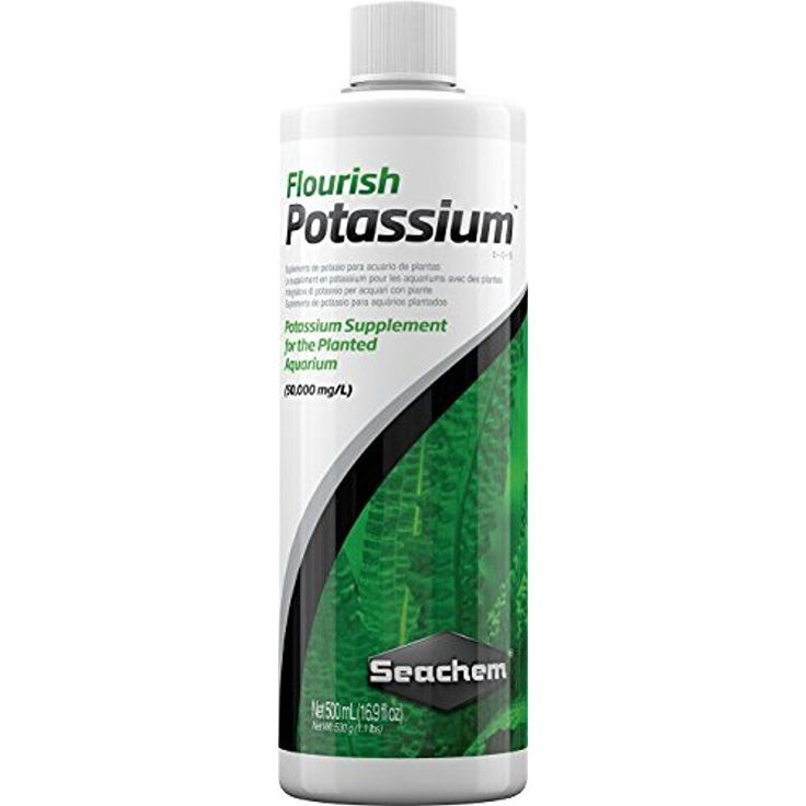 Seachem Potassium Supplements Flourish Planted Fish Aquarium 500ml Pet Suppliers #Seachem