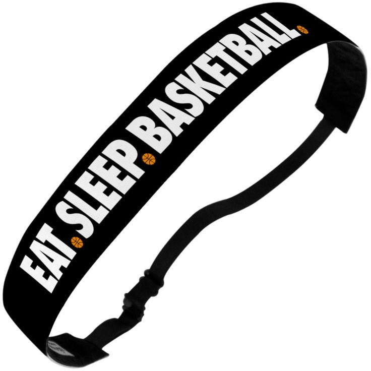 Basketball No-Slip Stirnband – Eat Sleep Basketball | Mädchen Basketball Stirnband | Kopfbedeckung für Mädchen Basketball-Spieler | Mädchen Basketball Zubehör   – Products