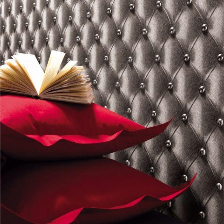 les 25 meilleures id es de la cat gorie papier peint capitonn sur pinterest l europeen. Black Bedroom Furniture Sets. Home Design Ideas