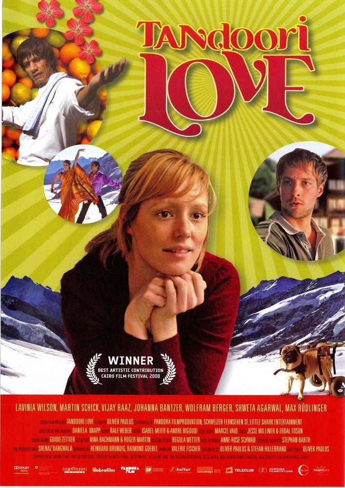 TANDOORI LOVE - Lavinia Wilson Vijay Raaz - 2008 ORIG. FILMPOSTER A4