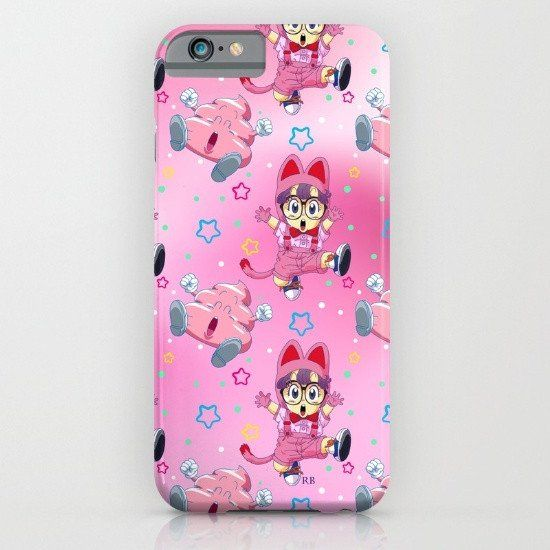 Arale Anime 2 iphone case, google Pixel case