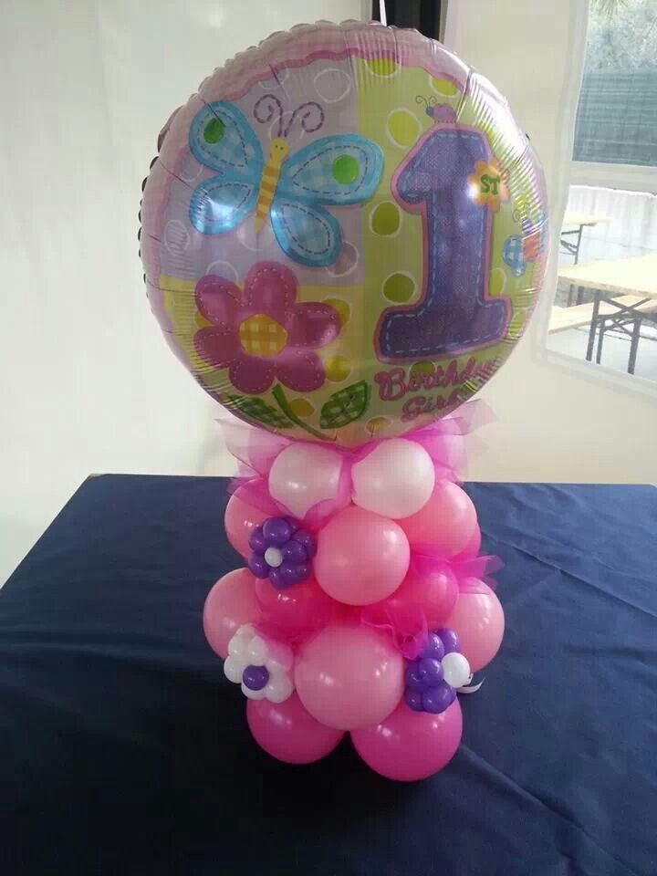 51 best images about 1st birthday ideas on pinterest for Balloon decoration london
