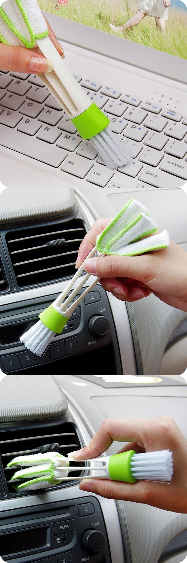 [Visit to Buy] 2017 New Keyboard Dust Collector Computer Clean Tools Window Blinds Cleaner Levert Dropship Free Shipping car cleaning tool #555 #Advertisement
