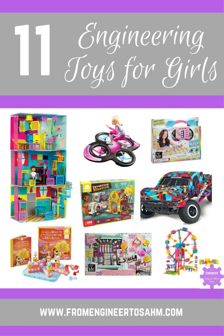 11 Engineering Toys for Girls | STEM Toys | Each one of these 11 toys will teach girls different Engineering Concepts for hours of fun!
