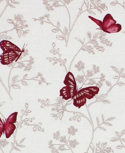 Red Blinds | Darcie (Berry) Bespoke Roman Blinds