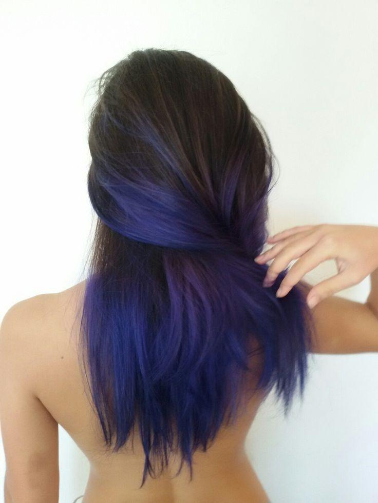 Blue hair Me Capelli blu