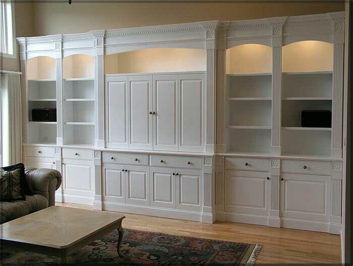 Best Entertainment Center Images On Pinterest Entertainment - Built in cabinets entertainment center design pictures remodel
