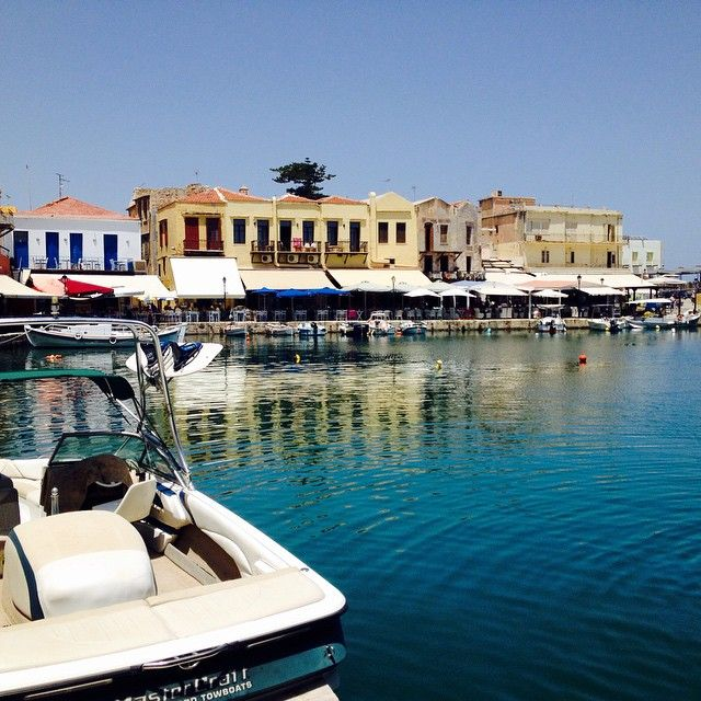 #Summer moments...! #Rethymno #Crete  Photo credits: @pololbl