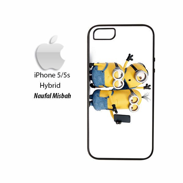 Selfie Despicable Me Minion iPhone 5/5s HYBRID Case Cover