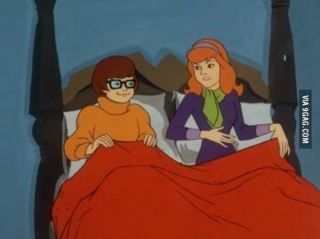 Daphne and velma lesbian