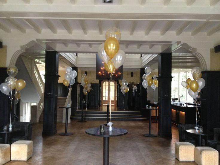 22 beste afbeeldingen over ballondecoratie in zalen en feestruimten op pinterest met lunches - Restaurant decoratie ...