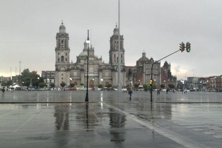 Clima hoy 30 de enero: Nublado y con lluvias en #CDMX