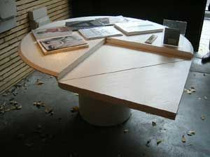 25 best ideas about table modulable on pinterest butor table convertible - Table ronde modulable ...