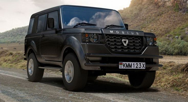 New Mobius II Is A Tough And Cheap SUV Built For Africa
