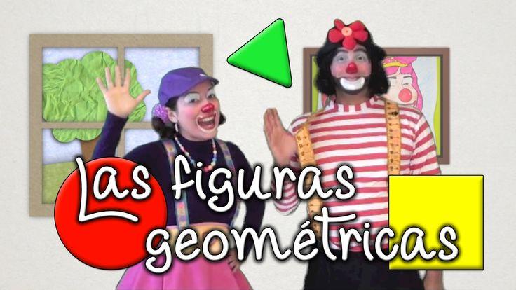Las Figuras Geométricas para niños, por los payasos Agapita
