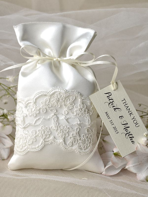 The 24 Best Lace Gift Bags Lace Wedding Favor Bags Images On