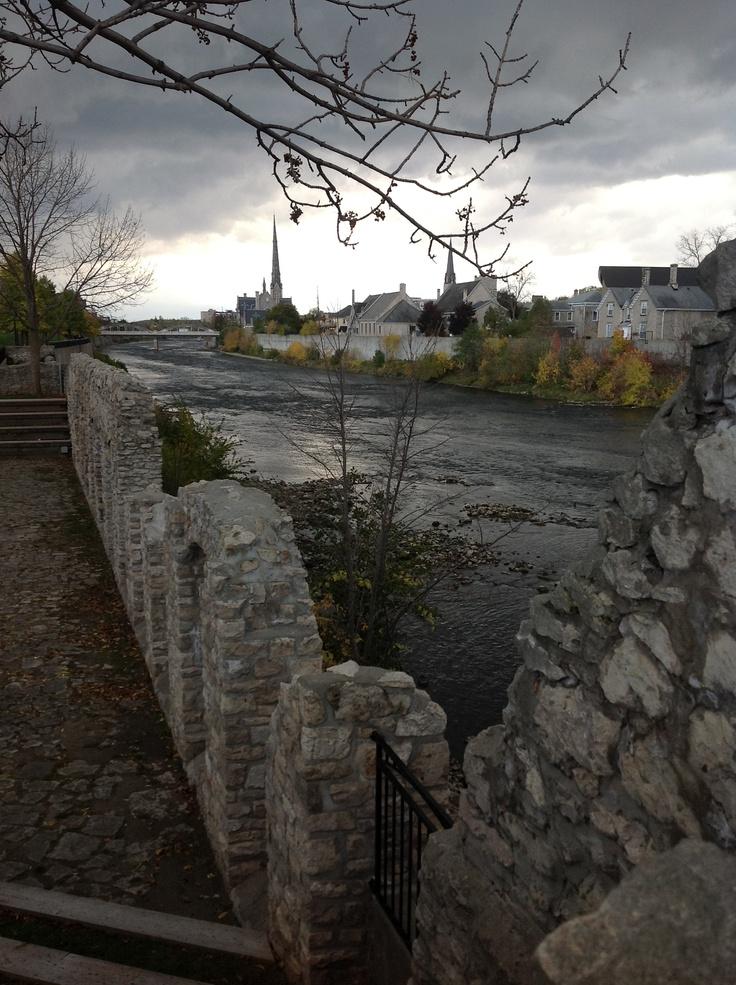 Cambridge, Ontario - Grand River (Diane Smith)  http://www.leadworks.ca