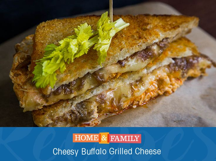 Buffalo Grilled Cheese - @mattiseman takes a classic grilled cheese ...