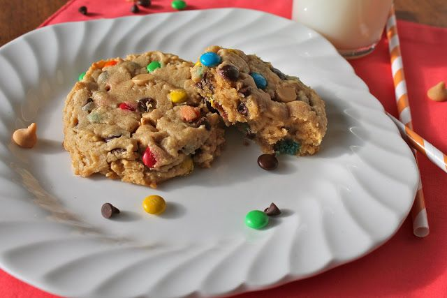 Soft Monster Cookies | Mrs. Schwartz's Kitchen