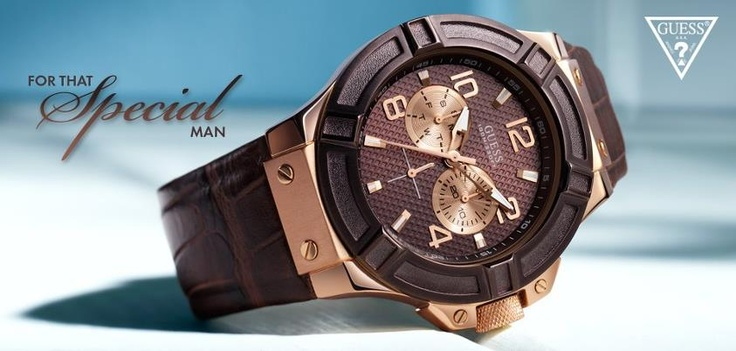 Adventurous Watches for Men by GUESS!  http://www.oroloi.gr/index.php?cPath=484