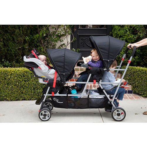 So you have 3 children and need to get around - need this!
