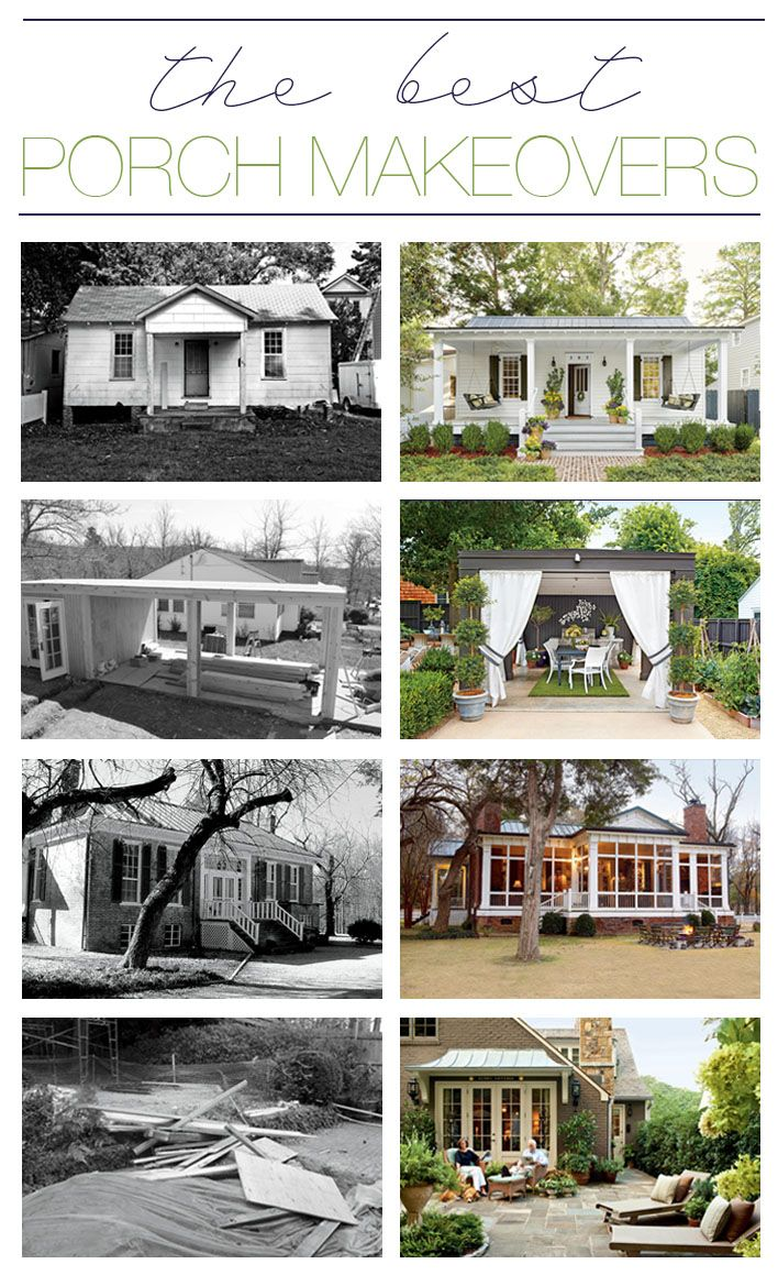 Idea 3 charm with new finishes before amp after family beach homes - Before And After Porch Makeovers That You Need To See To Believe