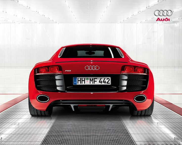 red audi  r8 high quality wallpaper - http://69hdwallpapers.com/red-audi-r8-high-quality-wallpaper/