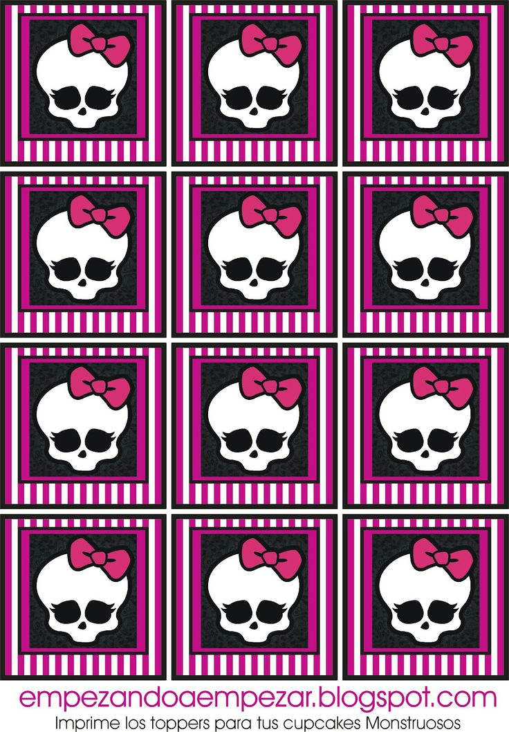 Monster High Party Printables | Monster High.Imprimibles gratis.