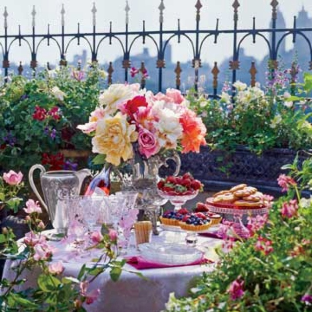 English Garden Party Chippy Pink Likes Pinterest