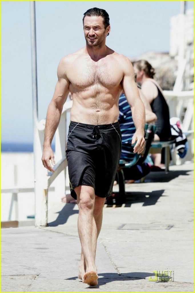 MX is a fighter, and, when away from his kingdom, he pretends to have an entirely different, and more erratic, personality. Plus, we all can appreciate Hugh Jackman's shirtless-ness.