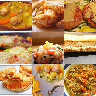 9 maneras diferentes de cocinar pollo ~ Comer especial