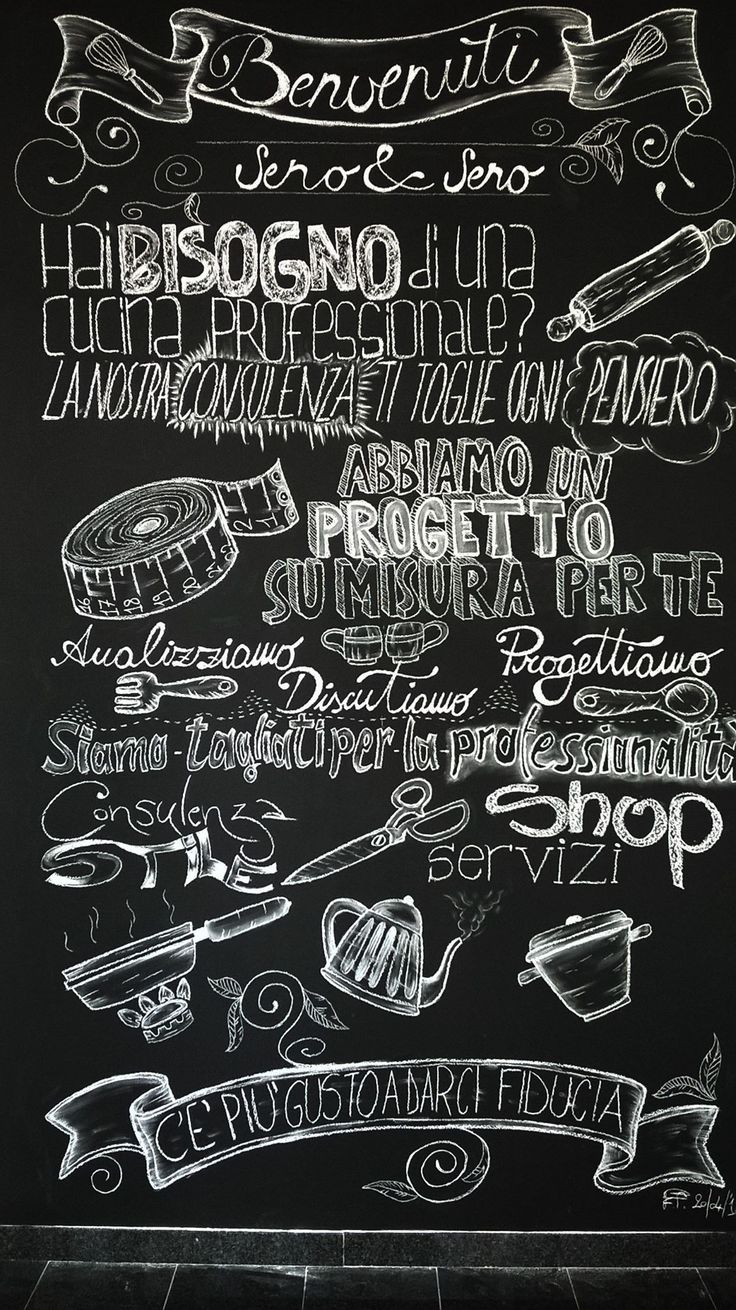 #mywork #blackboard #Seno&Seno #lavagnaegesso #aprile2016 #soddisfatto #logo #handwriting