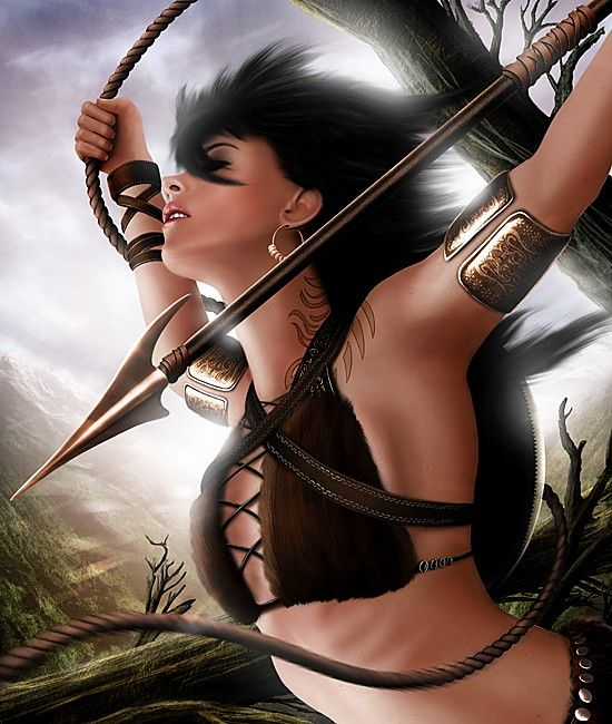 13 Best Sexy Warriors Images On Pinterest: The Hunter By Gerald Jelitto