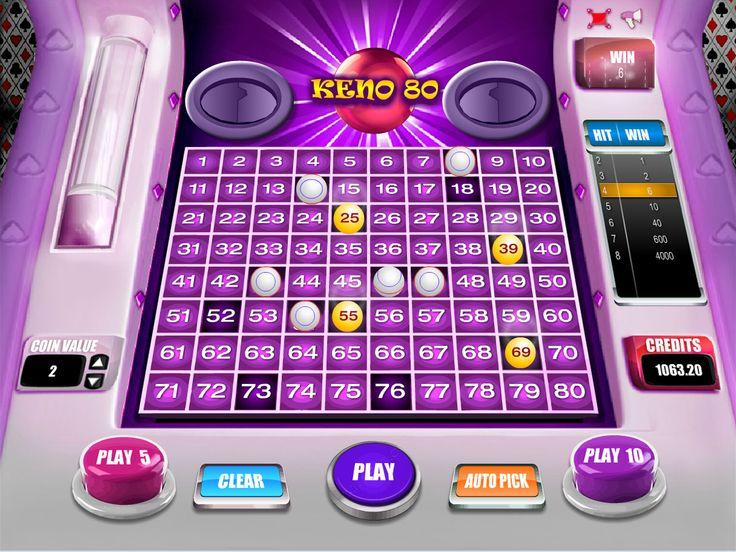 Buy Arcade game for Online Casino - Keno 80 Arcade keno