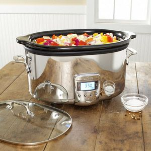 The All-Clad Slow Cooker  ______________________________  The Kitchen