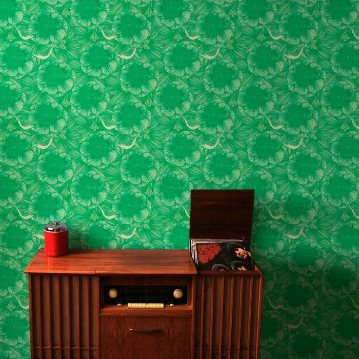 Victora in Green | www.wallpaperantics.com.au