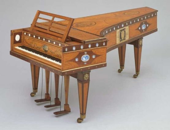 1796 John Broadwood & Son Grand Piano - the exact kind Marianne Dashwood played in Sense and Sensibility!