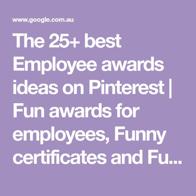 15 best awards and certificates images on pinterest the 25 best employee awards ideas on pinterest fun awards for employees funny yelopaper Gallery