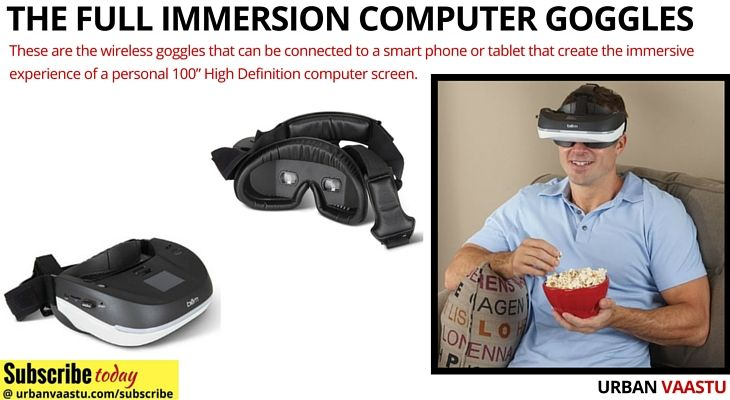 Cool Trends : The Full Immersion #Computer #Goggles