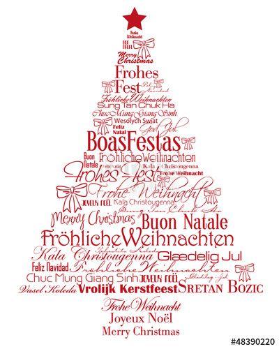 typo weihnachtsbaum international typography xmas fotolia graphicdesign weihnachtsw nsche