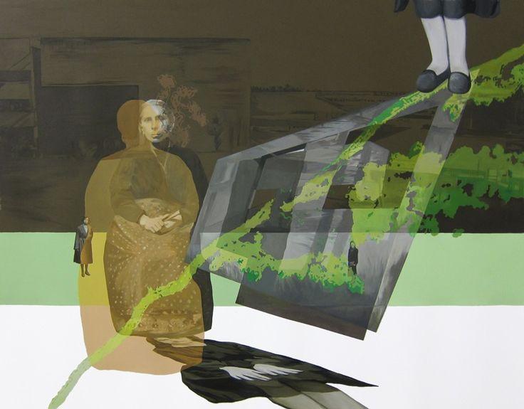 Anna Caruso | Non era questo ciò che sognavamo, acrilico su tela, 2014