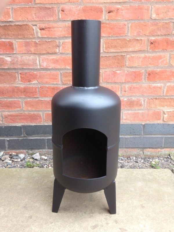 7 Kg Gas Bottle Chiminea Garden Chiminea Gas Bottle