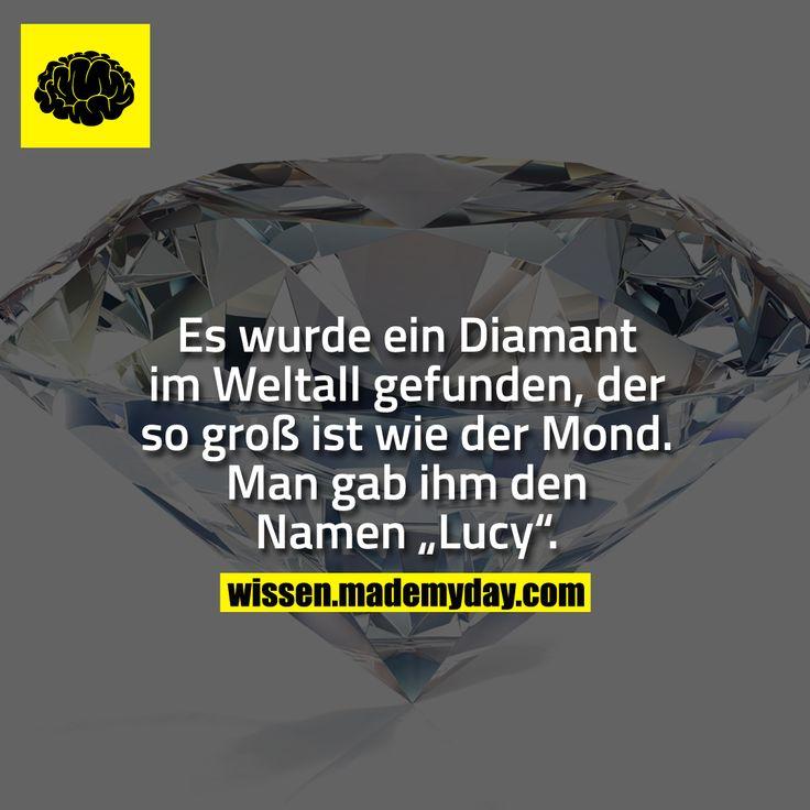 Es wurde ein Diamant im Weltall gefunden, der so g…