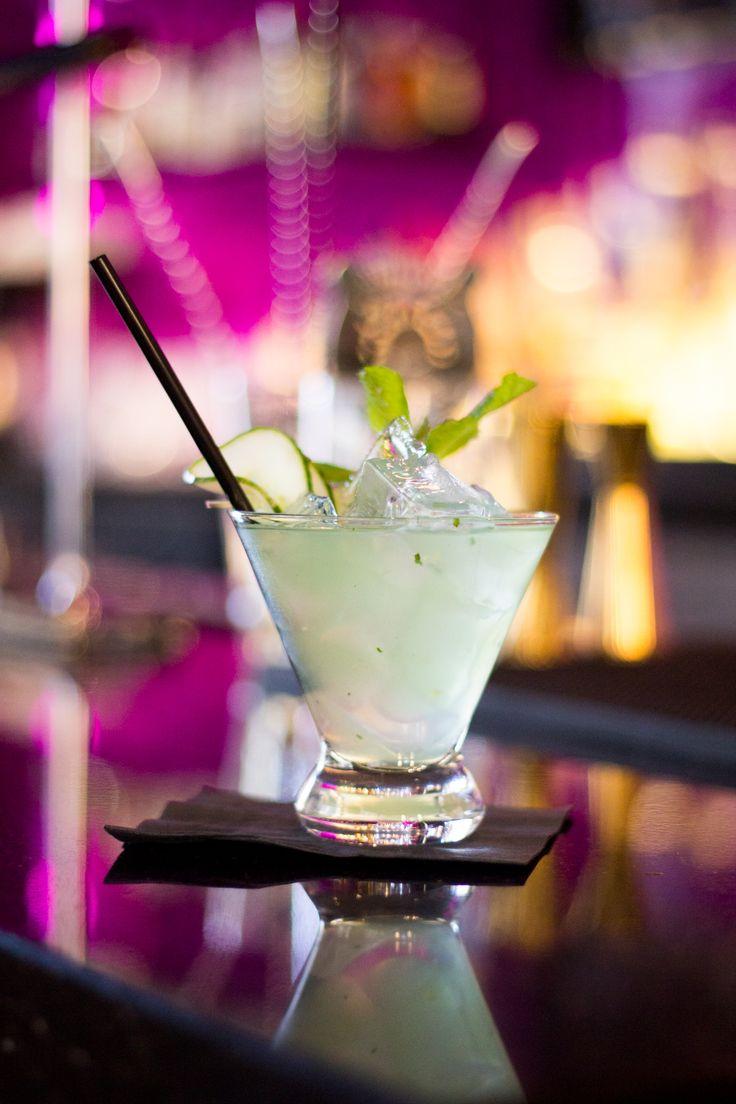 Cucumber Julep - maker's mark, cucumber, mint, lemon juice, simple syrup — at America Restaurant. #Toronto #restaurant #cocktails #food