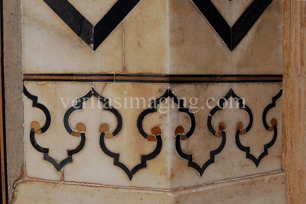 #India: taj-mahal-decorative-elements
