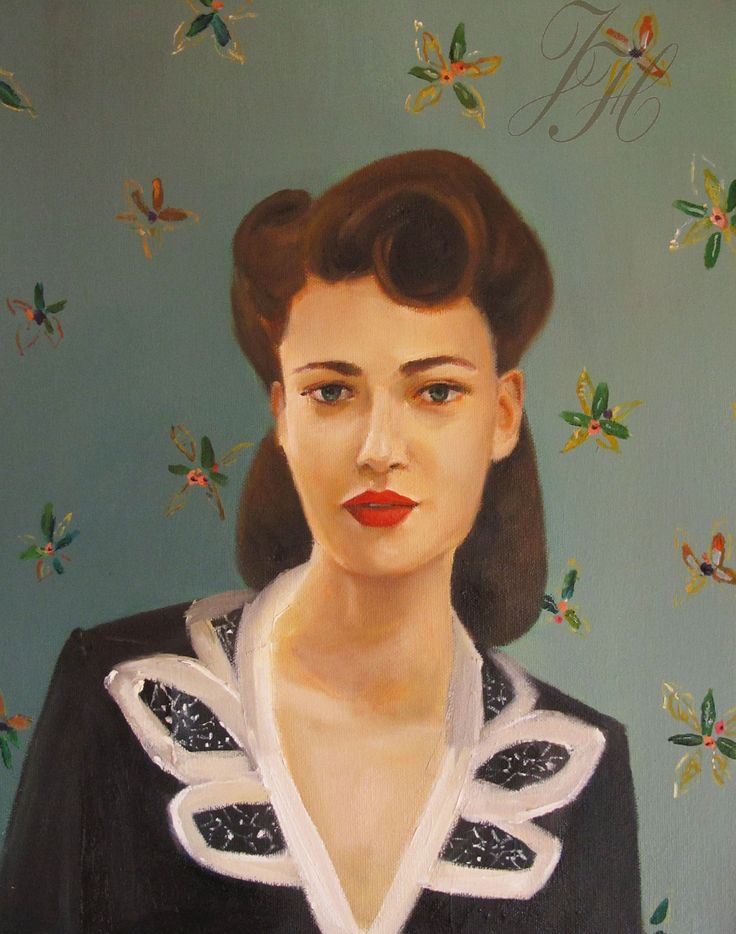 'Miss Masters' By Janet Hill 2014