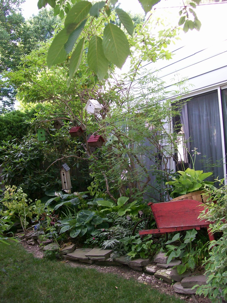 Landscaping Ideas For Shady Side Of House : Garden landscaping ideas small places shade