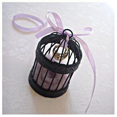 La mini cage porte alliances - I <3 it!